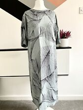 JIGSAW Dress Size 8  GREY/GREEN  | SMART Occasion WEDDING Cruise