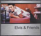 ELVIS & FRIENDS - VARIOUS ARTISTS on 3 CD's - NEW -