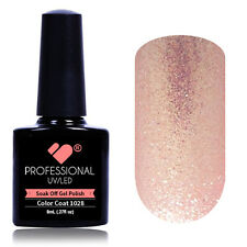 *1028* VB® Line Light Pink Shiny Metallic UV/LED Soak Off Nail Gel Color Polish