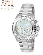 NEW Invicta Angel 38mm Multi-Function SS Mother of pearl Dial Ladies Watch 22968