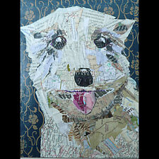 Dog Collage Print Susan Schenk Conrad