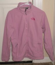 The North Face Womens Breast Cancer Awareness Pink Ribbon Fleece Jacket size M G