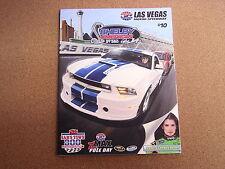 NASCAR PROGRAM- SHELBY AMERICAN @ LAS VEGAS MOTOR SPEEDWAY 2/25/10