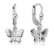 Ohrhänger Schmetterling 925 Sterling Silber Ohrringe Ohrschmuck Kinder Schmuck