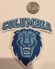 Columbia University Columbia Lions Vintage Embroidered Iron On Patch  3.5 X  3.5