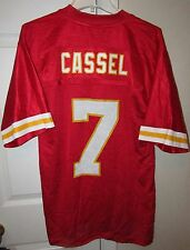 NFL Kansas City Chiefs #7 Matt Cassell LH Patch Jersey Sz Medium