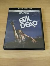 The Evil Dead (4K Ultra Hd Blu-ray, 2018) Bruce Campbell No Digital Free Ship!