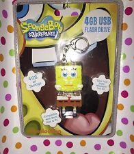 Brand New Whimsical, Fun & Functional 4 GB USB FLASH DRIVE SpongeBob SquarePants