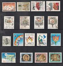 CYPRUS 1994 COMPLETE YEAR COMMEMORATIVE SETS FINE USED MINERALS TREES AVIATION