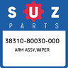 38310-80030-000 Suzuki Arm assy,wiper 3831080030000, New Genuine OEM Part