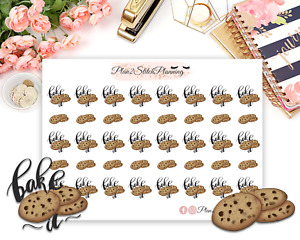 Bake Food Planner Stickers   Icons   Scrapbooking   Bujo