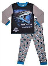 Universal Jurassic World Dinosaur Hybrid Predator Long Boys Pyjamas 5 to 13 Yrs