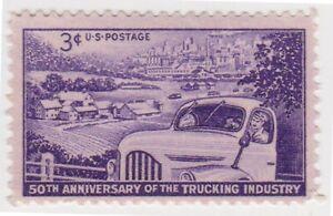 (K565-61) 1953 USA 3c Trucking MINT (BK)