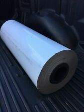 """new ECLIPSE Magnets 620mm (24"""") x 0.85mm x 36m White Vinyl Magnetic Sheet Roll"""