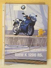 Prospekt BMW K 1200 RS 2001