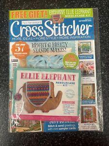 Cross Stitcher magazine. No.374 September 2021. NEW. +  Cross stitch kit