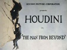 """16mm Feature """"The Man From Beyond"""" Starring Houdini"""