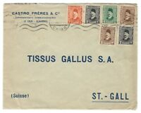 s23321) EGYPT 1928 Advert Cover Cairo St. Gall Suisse