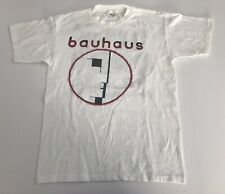 Vintage 90s Bahaus Peter Murphy Goth T Shirt White Large New Wave