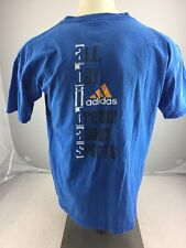"""Vintage 90s Adidas """"All Day I Dream About Sports"""" graphic T Shirt men's M USA"""
