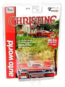 "AW Auto World Silver Screen Machines Ltd. Ed. Christine 1958 Plymouth Rare ""MOC"""