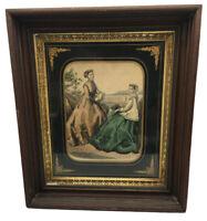 Antique Victorian Petit Courrier des Dames Modes of Paris 1800-1899 Lithograph