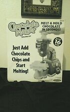 NEW CHOCOLATE MAKER MOLDING KIT W/ 16 MOLDS BY SPIN MASTER TOYS