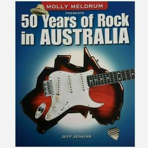 Molly Meldrum Presents 50 Years of Rock in Australia by Jeff Jenkins, As New
