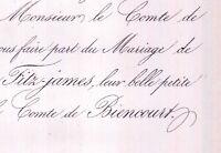 Elisabeth Marie De Fitz-James 1859 Charles De Biencourt
