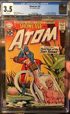 Showcase #34 (Sep-Oct 1961, DC) CGC 3.5 WP CCS pressed 1st Silver Age ATOM!!!