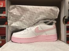 Nike Air Force 1 Low White Pink Foam GS Size 3.5Y Brand New Read Description