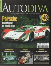 AUTODIVA 40 PORSCHE 917 BERND ROSEMEYER EMERYSON FELDAY ALAIN HUBERT THE YANKS A