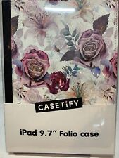 Casetify Folio Case for iPad 9.7 (5th & 6th Generation) Floral