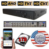 Sikker 16 Ch Channel standalone Video Security DVR Camera Recorder System 1TB