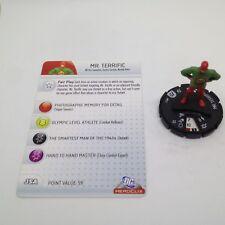Heroclix DC75th Anniversary set Mr. Terrific #011 Common figure w/card!