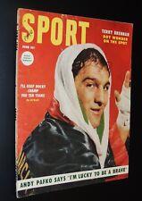 1954 Sport Magazine Rocky Marciano  *FREE SHIPPING*