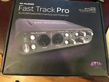 M-Audio Fast Track Pro Digital Recording Interface USB/MIDI/GUITAR