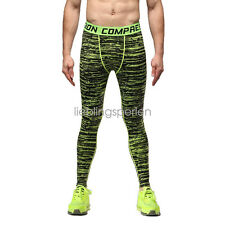 Mens GYM Compression Running Tights Camouflage Sport Train Trouser Pants 02