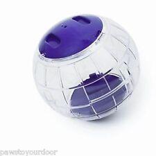 hamster Exercice Ball gerbille JOUET JEU TRANSPARENT Pennine couleurs variées