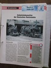 Dampflok Archiv G61: BR 81 Einheitslokomotive DR
