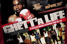 Cinema Poster: GHETT'A LIFE 2011 (Quad) Winston Bell Kevoy Burton O'Daine Clarke