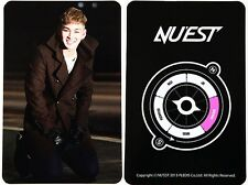 NUEST Nu'est 2nd Mini Album Hello BaekHo Photo Card B/Beast/VIXX/BAP/Infinite