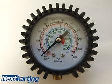 PRESSURE GAUGE 0-220 PSI - 0-15 BAR/ CAR / BIKE / TRUCK / HIGH PRESSURE -