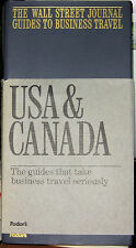 WALL STREET JOURNAL GUIDES TO BUSINESS TRAVEL USA & CAN
