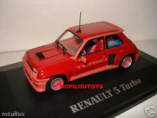UNIVERSAL HOBBY RENAULT 5 TURBO STREET VERSION Rosso per il 1/43 °