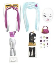BARBIE GIRLS FASHION PACK BLK/SILVER *NEW*