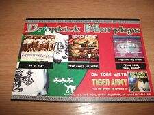 Dropkick Murphys F-Minus Promo Postcard Hellcat Records