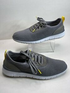 Cole Haan Mens 9.5 Generation Zerogrand Stitchlite Sneakers Ironstone Shoes Gray