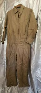 Vonda 100% Cotton Army Green Boiler Suit Jumpsuit Size Medium