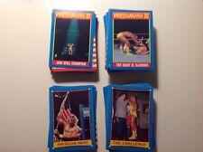 WWF/WWE TOPPS CARDS (1987, Wrestlemania III) 150 CARDS